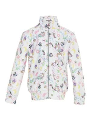 Multi -  - Ecru - Girls` Jacket