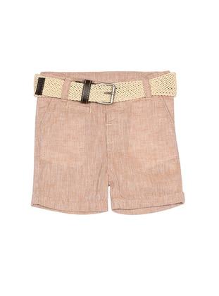 - Beige - Boys` Shorts