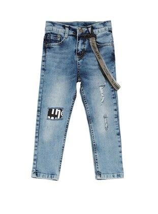 Denim -  - Blue - Boys` Pants