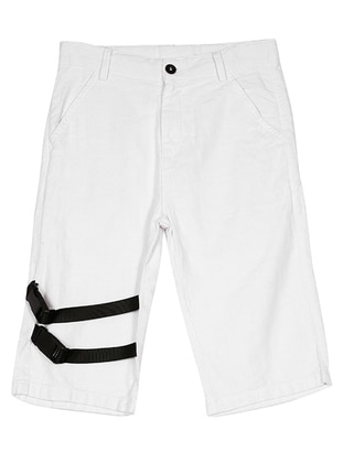 - White - Boys` Shorts