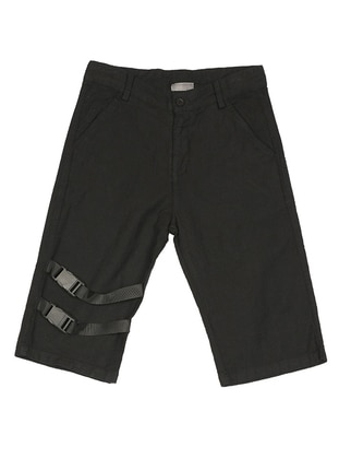 - Black - Boys` Shorts