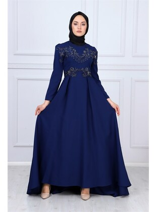 Indigo - Muslim Evening Dress