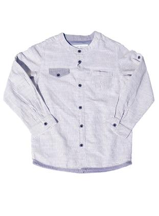 - Blue - Boys` Shirt
