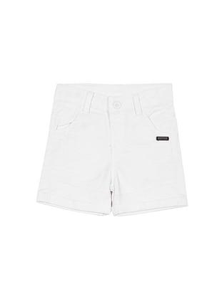 - White - Boys` Shorts