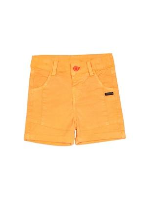 - Orange - Boys` Shorts