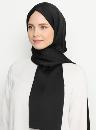 Black - Plain - Shawl