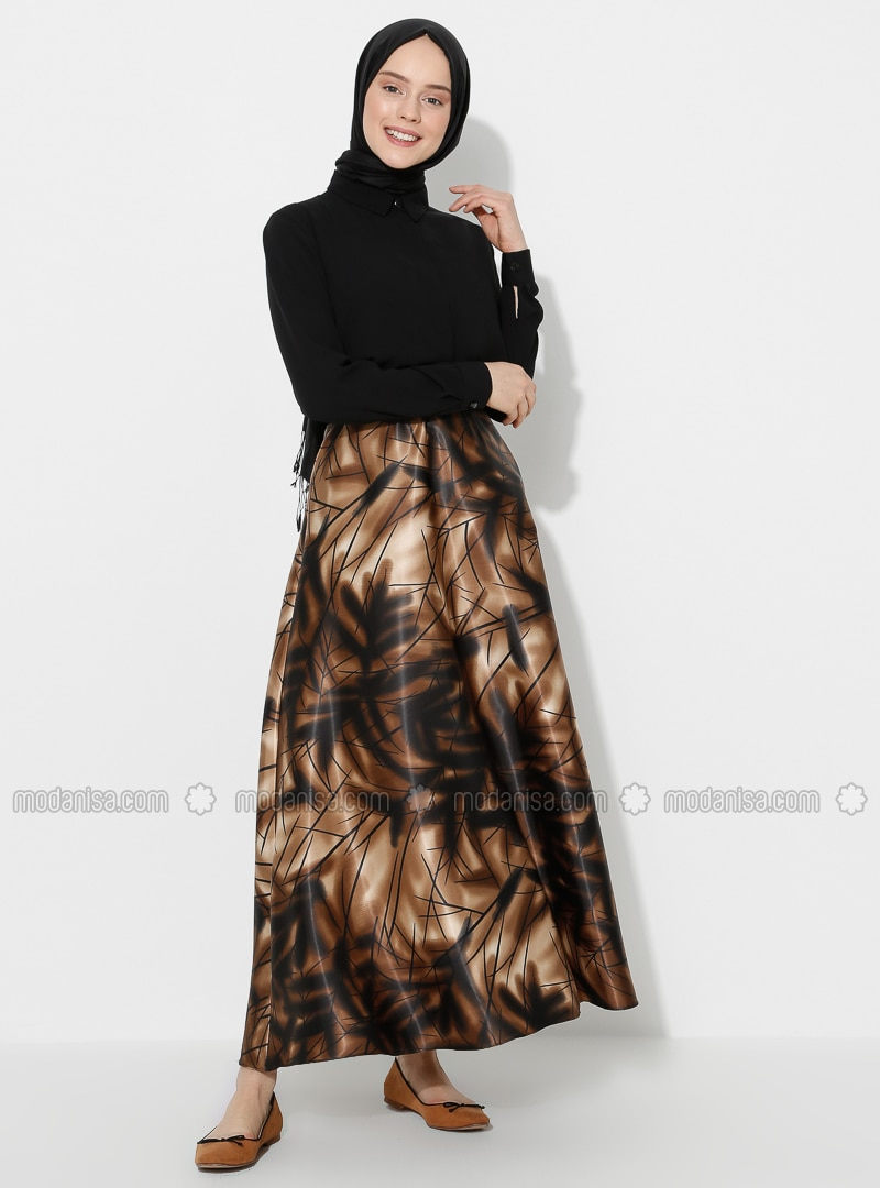 Floral - Unlined - Skirt