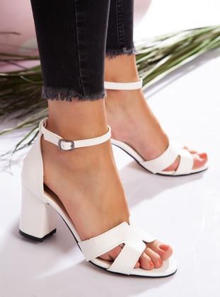 White - High Heel - Heels - Ayakkabı Havuzu