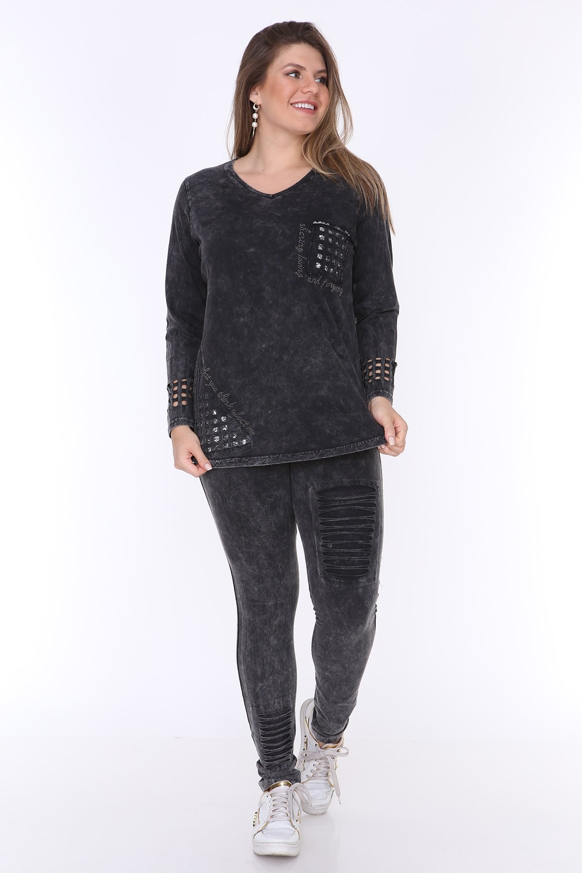 Plus Size Suit MJORA Black