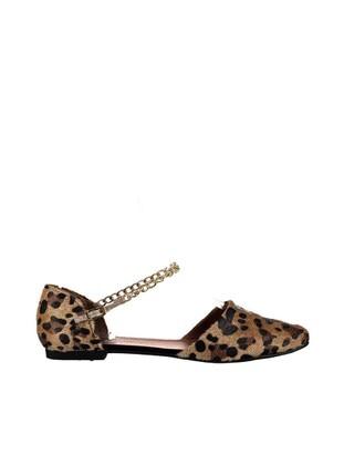 Leopard - Flat - Flat Shoes