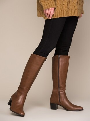 Tan - Boot - Boots - Fox Shoes