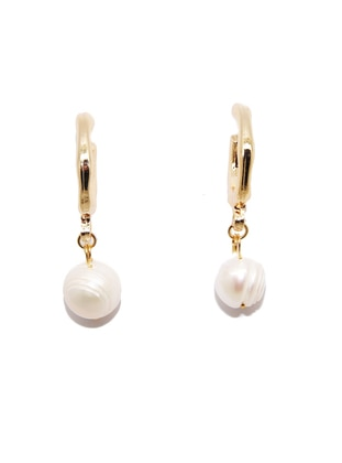 Gold - Earring - Batı Accessories