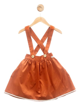 - Unlined - Cinnamon - Girls` Skirt