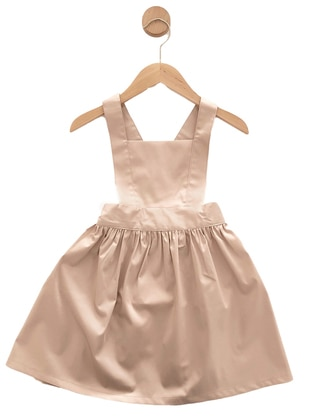 - Unlined - Pink - Powder - Girls` Dress