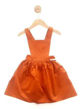 - Unlined - Cinnamon - Girls` Dress