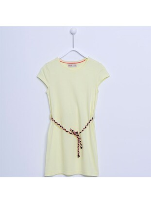 Yellow - Girls` Dress - Silversun