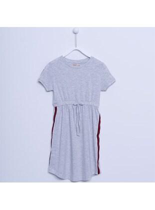 Gray - Girls` Dress - Silversun
