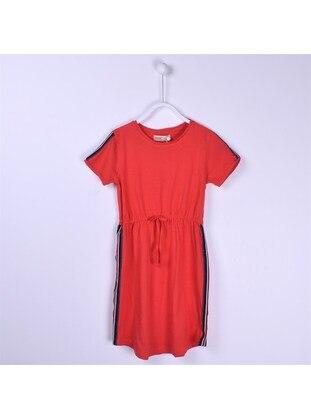 Red - Girls` Dress - Silversun