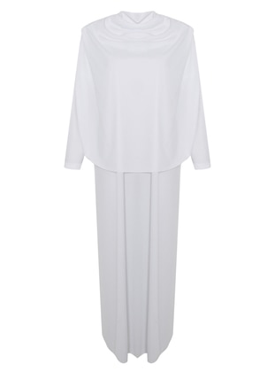 White - Unlined - Prayer Clothes - SAYIN TESETTÜR