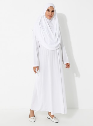 White - Unlined - Prayer Clothes