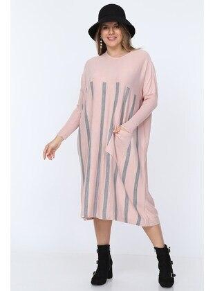 Pink - Plus Size Tunic