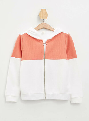 Ecru - Girls` Cardigan