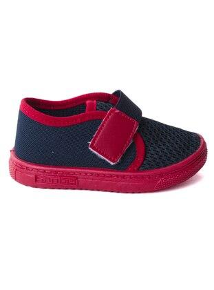 Navy Blue - Boys` Sandals - Sanbe