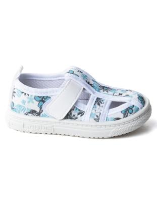 White - Girls` Sandals