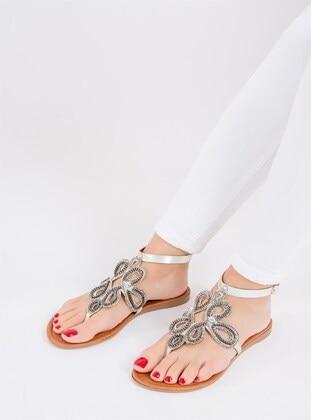 Lamé - Sandal - Sandal