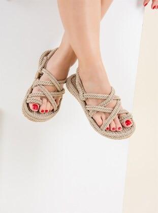 Nude - Sandal - Sandal - Fox Shoes