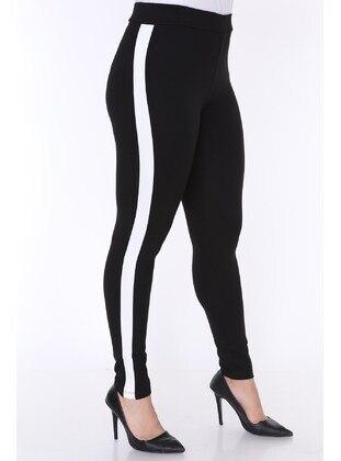 Black - Plus Size Leggings