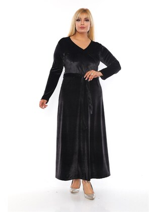 Black - Plus Size Dress