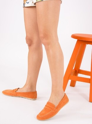 Orange - Shoes