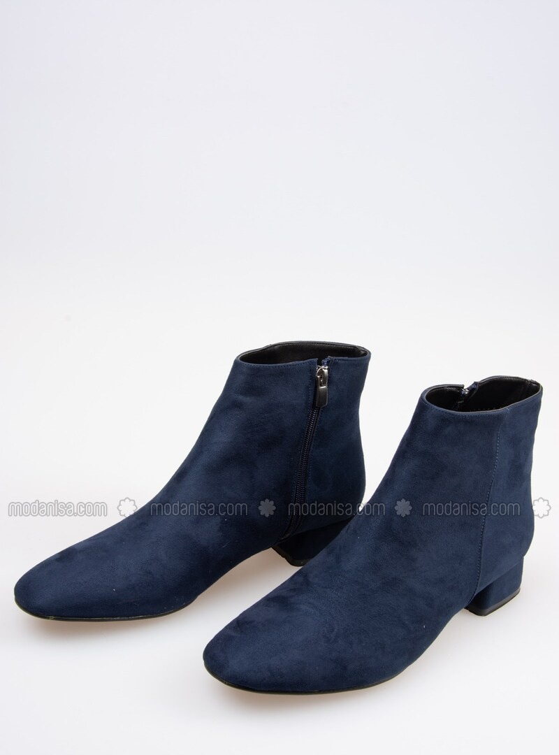 Navy Blue - Boot - Boots