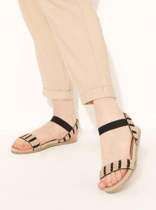 Black - Sandal - Sandal - Snox