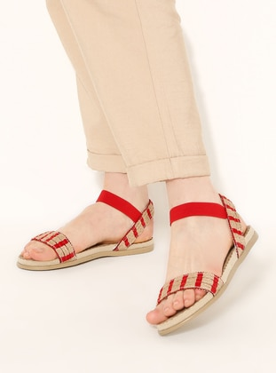 Red - Sandal - Sandal - Snox