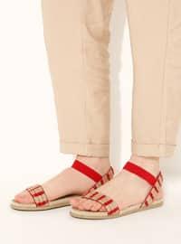 Red - Sandal - Sandal