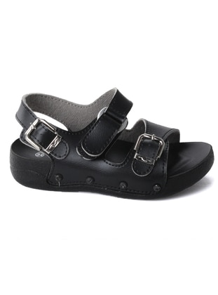 Black - Boys` Sandals - Muya