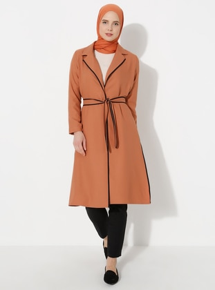 Terra Cotta - Shawl Collar - Topcoat