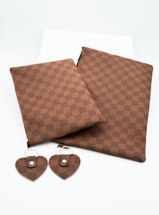 Brown - Clutch Bags / Handbags - Artbutika