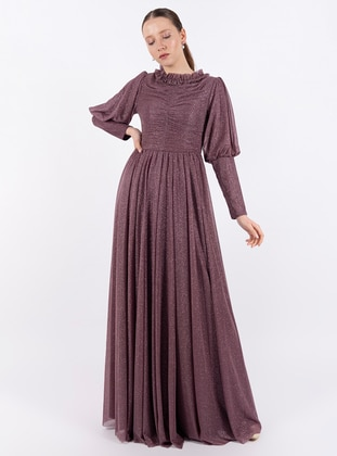 Rose - Crew neck - Fully Lined - Dress