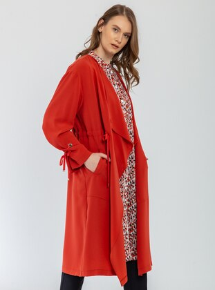 Terra Cotta - Unlined - Shawl Collar - Jacket