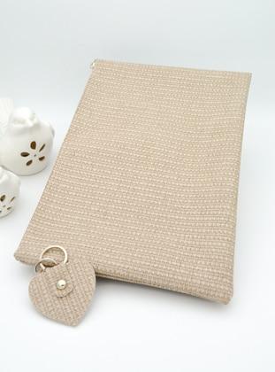 Beige - Clutch - Clutch Bags / Handbags - Artbutika