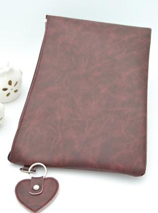 Maroon - Clutch - Clutch Bags / Handbags