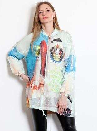 Mint - Unlined - Acrylic - Viscose - Jacket