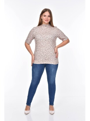 Cream - Plus Size Blouse