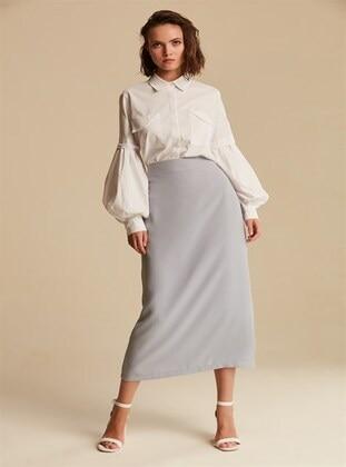 Gray - Skirt