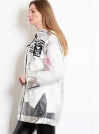 Silver tone - Unlined - Polo neck - Acrylic - Viscose - Puffer Jackets