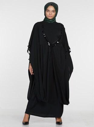 Black - Muslim Evening Dress