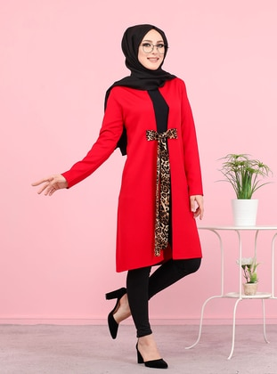 Red - Unlined -  - Jacket